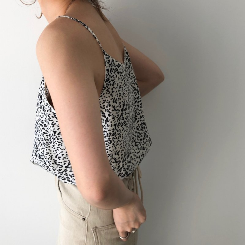 constellate leopard camisole