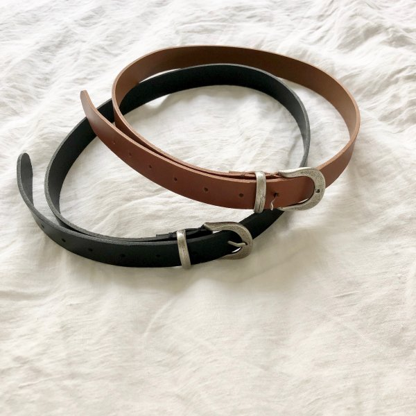 mineral cattle skin belt