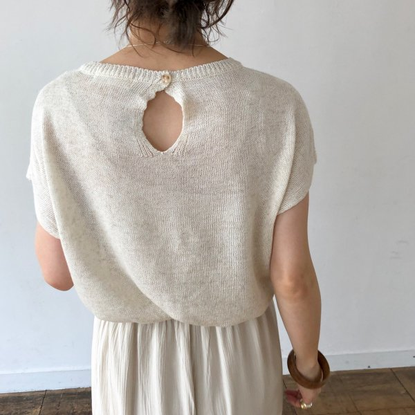 behind whole half summer knit
