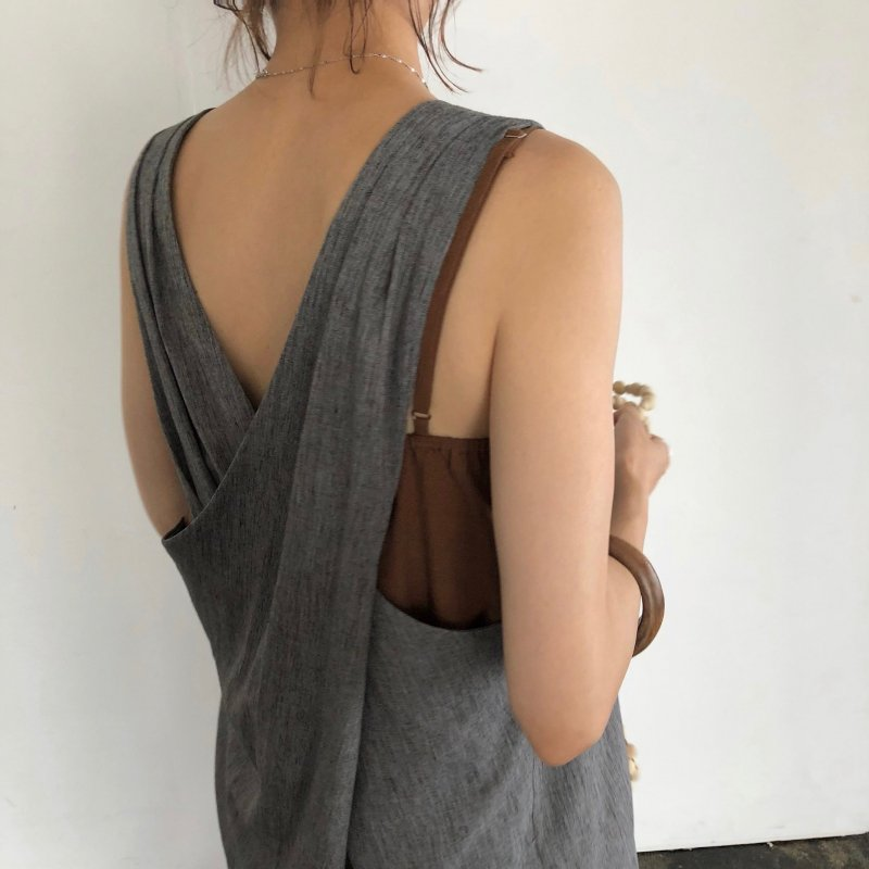 back cross 2set one-piece