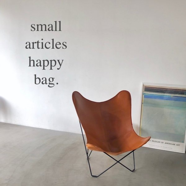 HAPPY BAG -small articles-
