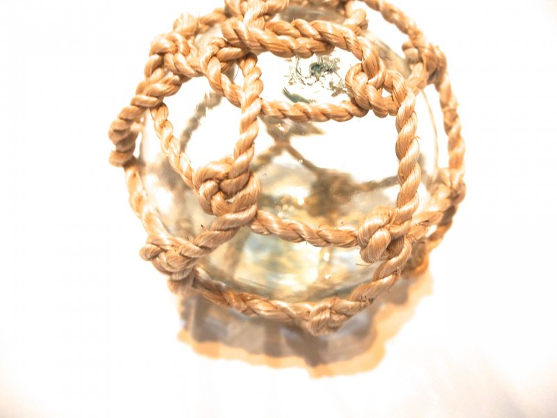 glas rope ornament