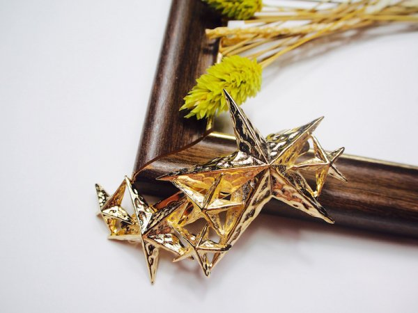 shooting star barrette