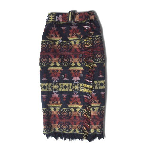 native wrap around skirt