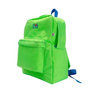 'PE▲K HOUR' Nylon Cordura-Backpack[LIME×ROYAL BLUE]