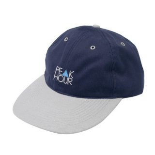 'PE▲K HOUR' Low Cap [NAVY×GRAY]