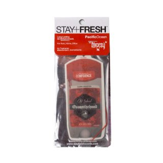 'OSSANTHEHOOD×STAY+FRESH' Air Freshener