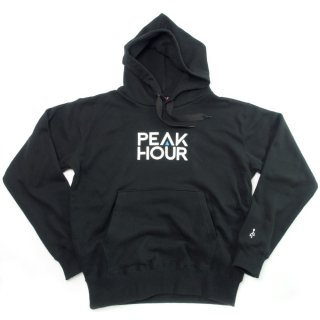 'PE▲K HOUR-USB' Pull Parka [BLACK]