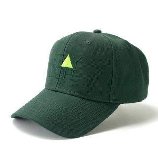 'ST▲Y DOPE' Curve Visor Snapback Cap [FOREST GREEN]