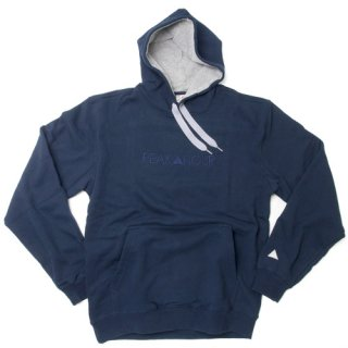 <一点物> 'PEAK▲HOUR' 2Tone-Pull Parka 10oz [NAVY×HEATHER GRAY]