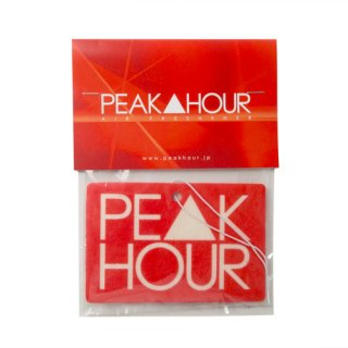 'PE▲K HOUR' Air Freshener [RED]