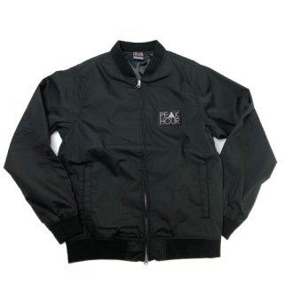 'PE▲K HOUR' Stadium Jacket [BLACK]
