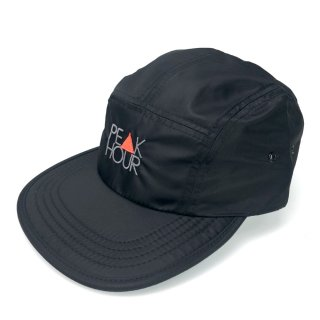 'PE▲K HOUR' Nylon Jet Cap [BLACK]