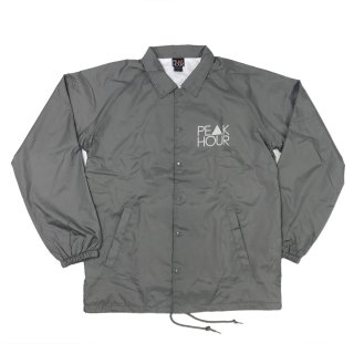 'PE▲K HOUR-Reflector' Raglan Sleeve-Nylon Jacket [GRAY]