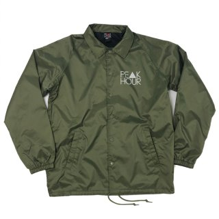 'PE▲K HOUR-Reflector' Raglan Sleeve-Nylon Jacket [ORIVE]