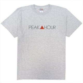 'PEAK▲HOUR' T-Shirt [ASH GRAY]