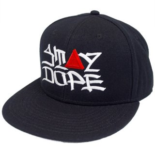 'ST▲Y DOPE / AMES Model' Snapback Cap [BLACK]