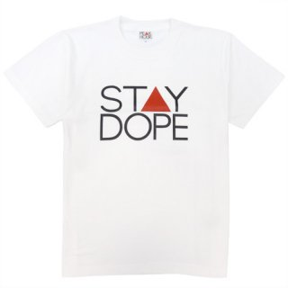 'ST▲Y DOPE' T-Shirt [WHITE]