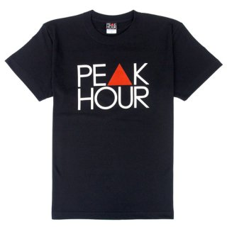 'PE▲K HOUR' T-Shirt [BLACK]