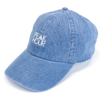 'PE▲K HOUR' Denim Cap [LIGHT BLUE]