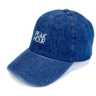 'PE▲K HOUR' Denim Cap [INDIGO BLUE]
