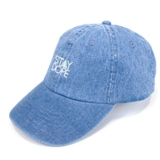 'ST▲Y DOPE' Denim Cap [LIGHT BLUE]