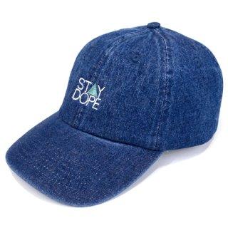 'ST▲Y DOPE' Denim Cap [INDIGO BLUE]