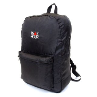 <img class='new_mark_img1' src='https://img.shop-pro.jp/img/new/icons22.gif' style='border:none;display:inline;margin:0px;padding:0px;width:auto;' />'PE▲K HOUR' Packable Backpack [BLACK]