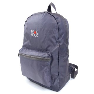 <img class='new_mark_img1' src='//img.shop-pro.jp/img/new/icons22.gif' style='border:none;display:inline;margin:0px;padding:0px;width:auto;' />'PE▲K HOUR' Packable Backpack [GRAY]