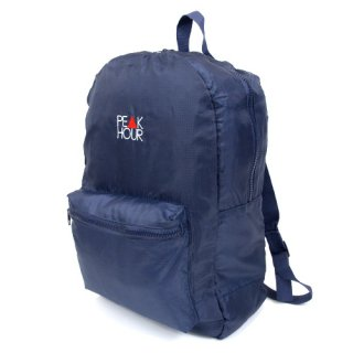 <img class='new_mark_img1' src='//img.shop-pro.jp/img/new/icons22.gif' style='border:none;display:inline;margin:0px;padding:0px;width:auto;' />'PE▲K HOUR' Packable Backpack [NAVY]