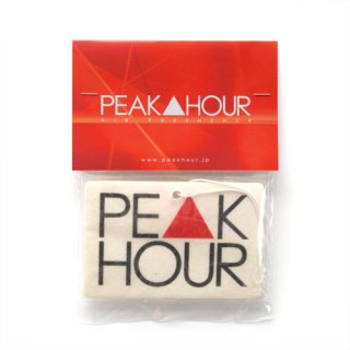 'PE▲K HOUR' Air Freshener [WHITE]