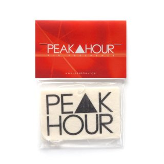 'PE▲K HOUR' Air Freshener [WHITE 2]