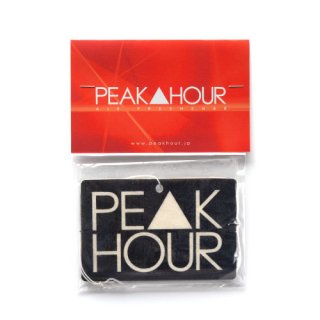 'PE▲K HOUR' Air Freshener [BLACK 2]