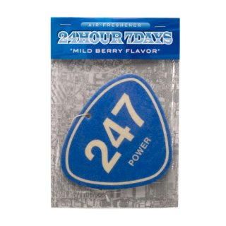 '247 POWER' Air Freshener [BLUE]