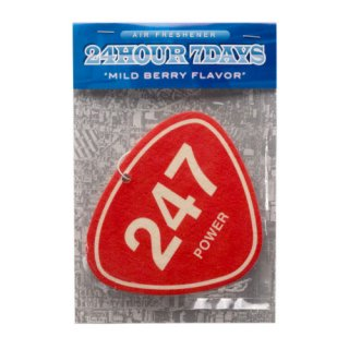 '247 POWER' Air Freshener [RED]