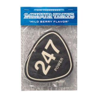 '247 POWER' Air Freshener [BLACK]
