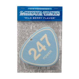 '247 POWER' Air Freshener [LIGHT BLUE]