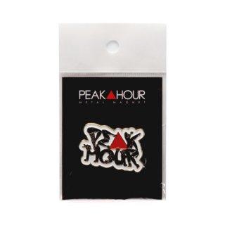 'PE▲K HOUR / 菱沼彩子Model' Metal Magnet [WHITE]