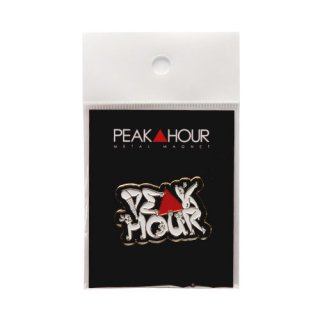 'PE▲K HOUR / 菱沼彩子Model' Metal Magnet [BLACK]