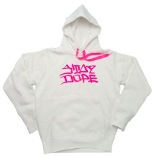 'ST▲Y DOPE / AMES Model' Pull Parka 12oz [WHITE]
