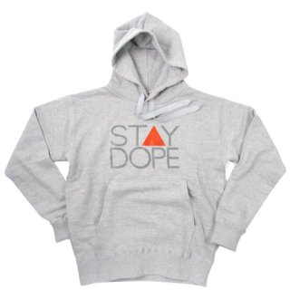 'ST▲Y DOPE' Pull Parka [HEATHER GRAY]