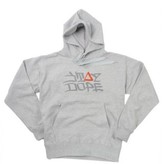 'ST▲Y DOPE / AMES Model' Pull Parka [HEATHER GRAY]