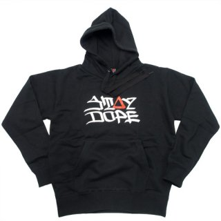 'ST▲Y DOPE / AMES Model' Pull Parka [BLACK]