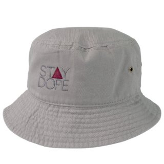 'ST▲Y DOPE-SHADOW' Bucket Hat [GRAY]