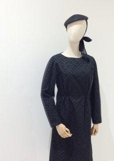 black dolman dress