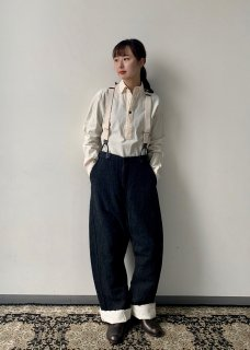 FARMERS TROUSERS DECONSTRUCTION(ウールリネン)