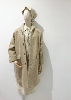 ケンピメルトンのコート(衿付)