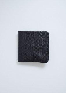 天然なめし革 二つ折り財布(柄)
