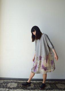 light gray easy dress