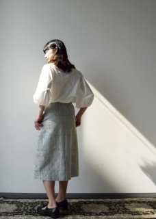 Quilt embroidery skirt